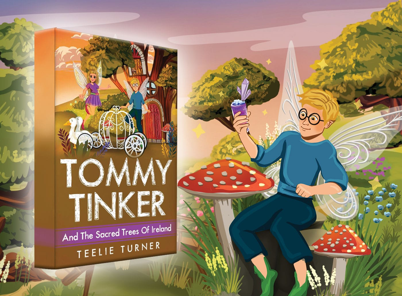 Magical Fairy Book